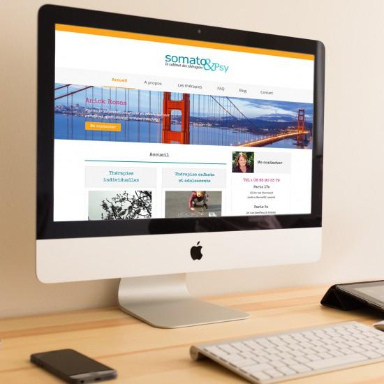 webdesign site anick rosa