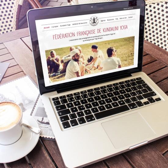Refonte du site de la Fédération Française de Kundalini Yoga