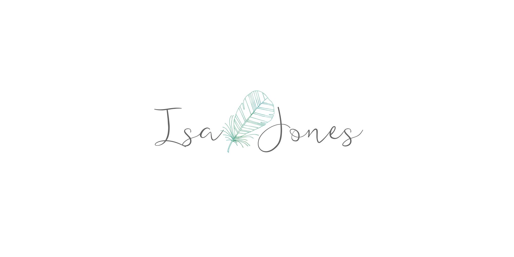 création logo isa jones