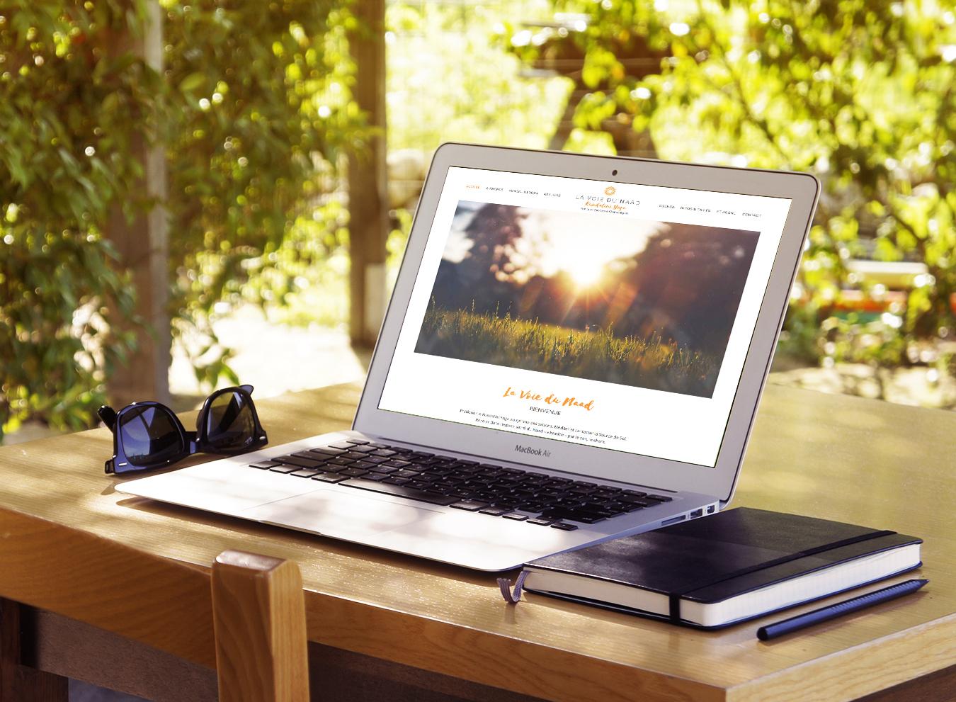 Création identité visuelle et site web - La voie du Naad