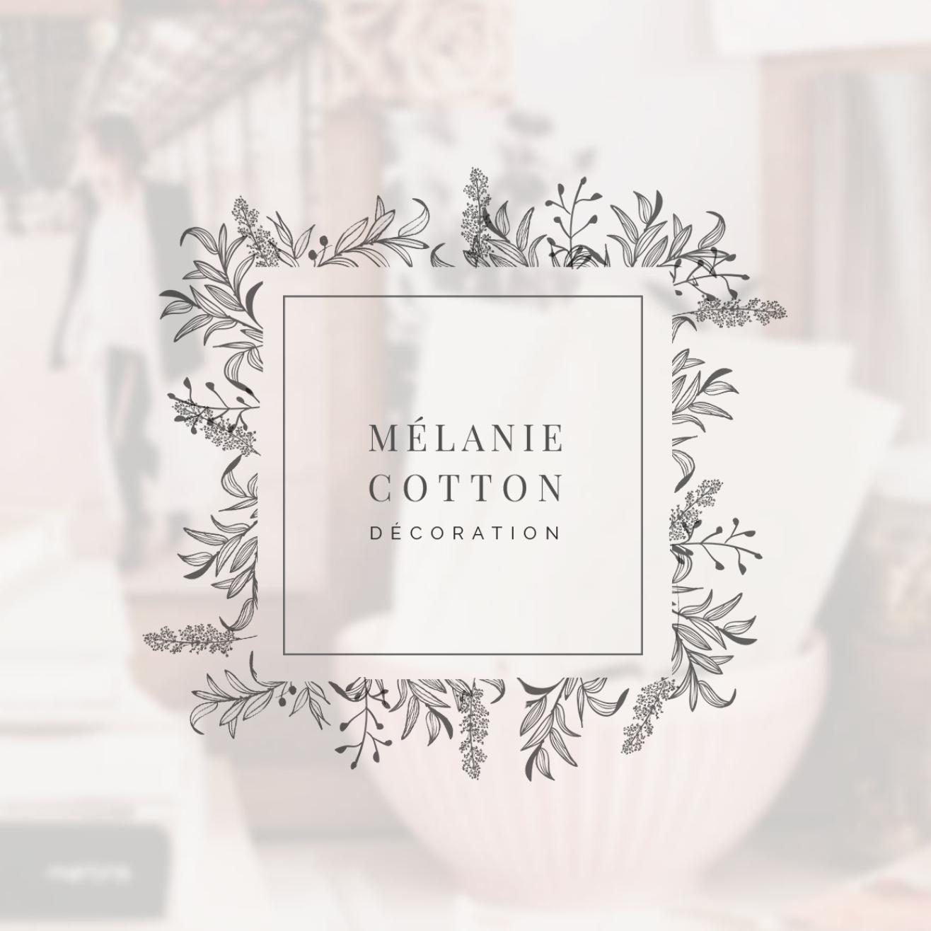 Création de logo pour Mélanie Cotton